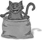 Кот в мешке W